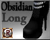 Obsidian Long Boots