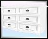 Aria Long White Dresser