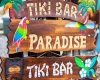 Tiki Bar In Paradise