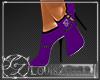 [LZ] Purple Heels black
