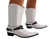 F WHITE OSTRACH BOOTS