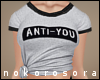 n  Anti-YOU tee