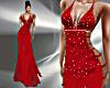 T- Satin Dress Red/S.