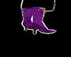 purple siquin boots