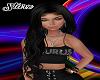 Paige Black Silk