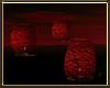Red Floating Lanterns