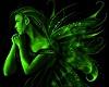 Green Angel Fairy