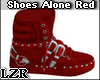 Red Shoes Alone fem