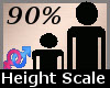 Height Scaler 90 % -F-