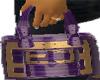 Purple fendi Purse