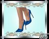Evelyn Pumps Blue