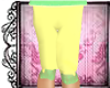 Child Yellow Leggings