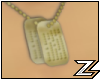 Gold Dog Tags (Male)