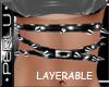 [P]Layer Spike Belt