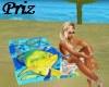Beach Towel Fish by Guy