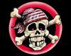 Jolly Roger Radio Mat
