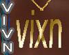 Vixn Gold Necklace