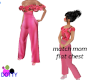 child pink pantsuit