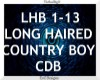 Long Haired Country Boy
