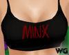 Minx Tank Vest Shirt Top