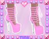 Babydoll Heels   Pink