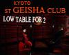 ST KYOTO GEISHA TABLE-2