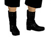 Black male boots