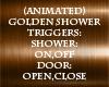 Animated Golden Shower