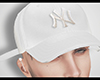 White Yankees Cap