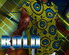 Bold Sideless Afro Tunic