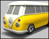 Canary Vintage Van