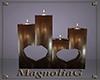 ~MG~ Wood Floor Candles
