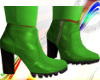 [EB]LIME GREEN BOOTS
