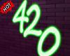 ✘ 420