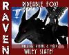 WILEY SLATE GREY FOX!