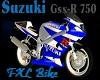 FXL Bike Suzuki GSXR 750