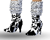 [HS]cow print boots