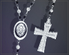 Cross Rosary Silver