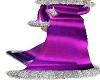 Purple Furry Dress