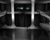 Grey and black ballroom