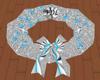(FDL) Silver Blue Wreath