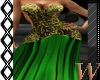 Green Holiday Gown