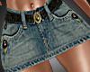 ^^Jean skirt - RXL
