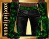 [L] TOXIC Skulls Pants M
