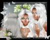 Hair arum 77 7 white