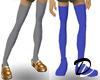 Schoolgirl shoe mesh