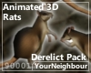 Animated 3D Rats