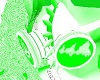 -x- mint green mask