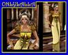 GOLDEN EMPIRE DRESS