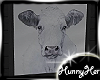 Framed Cow Pic